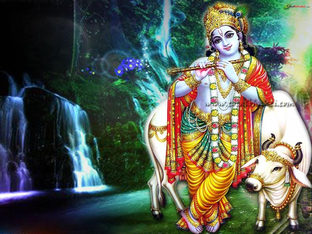 Shri Krishna Wallpaper Wallpapersafari