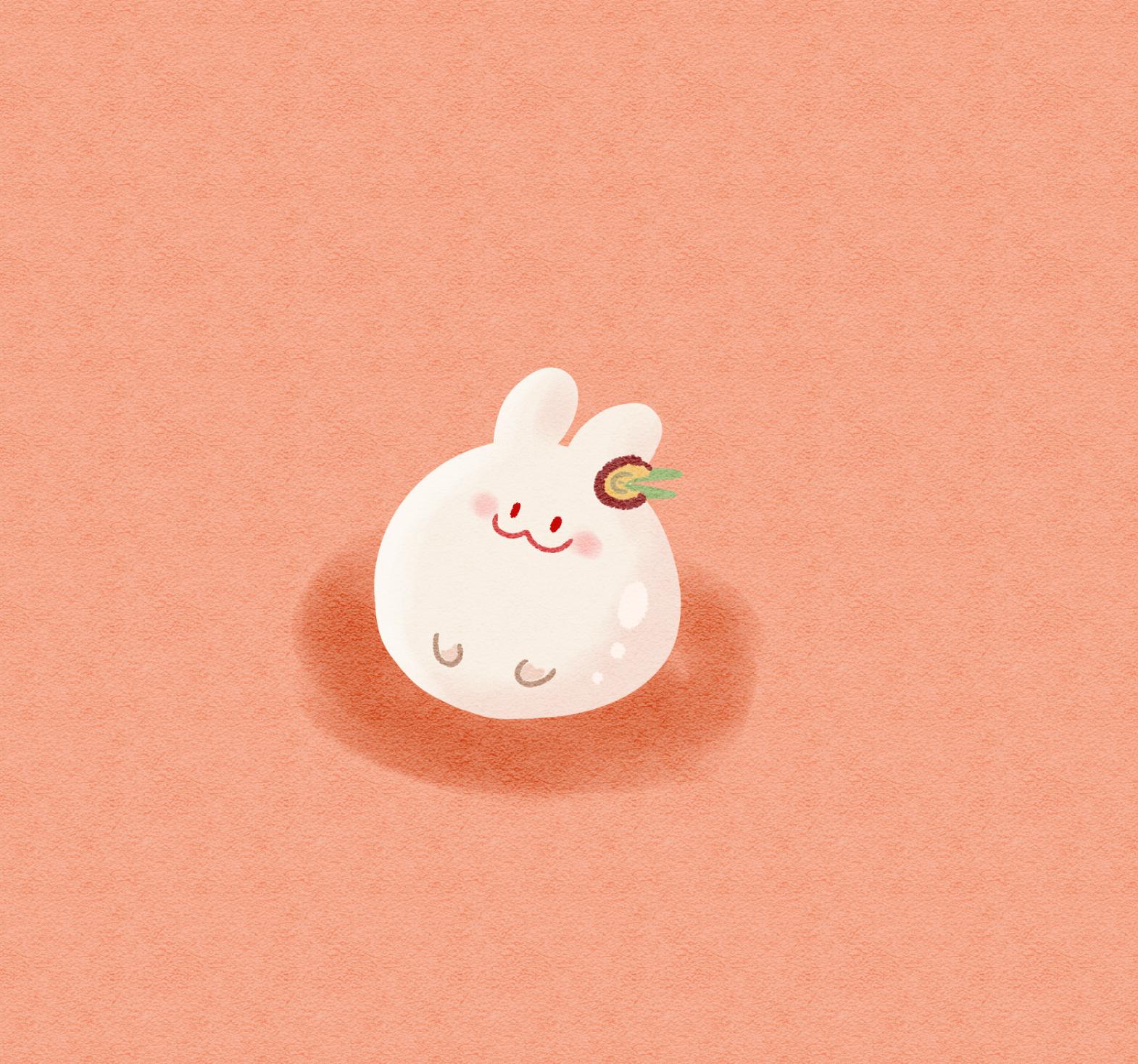 Moon Rabbit Cookie Rabbit Image 2933742   Zerochan Anime Image 1570x1468