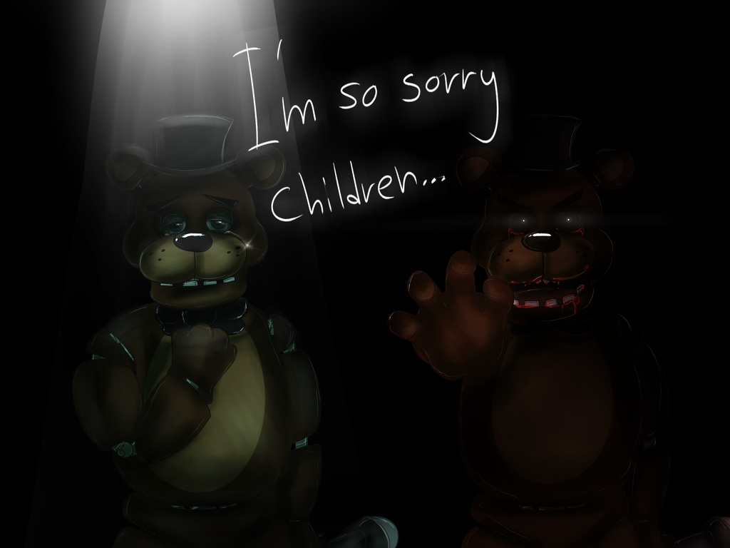 FNAF and FNAF 2 favourites by FoxythefoxII 1024x768