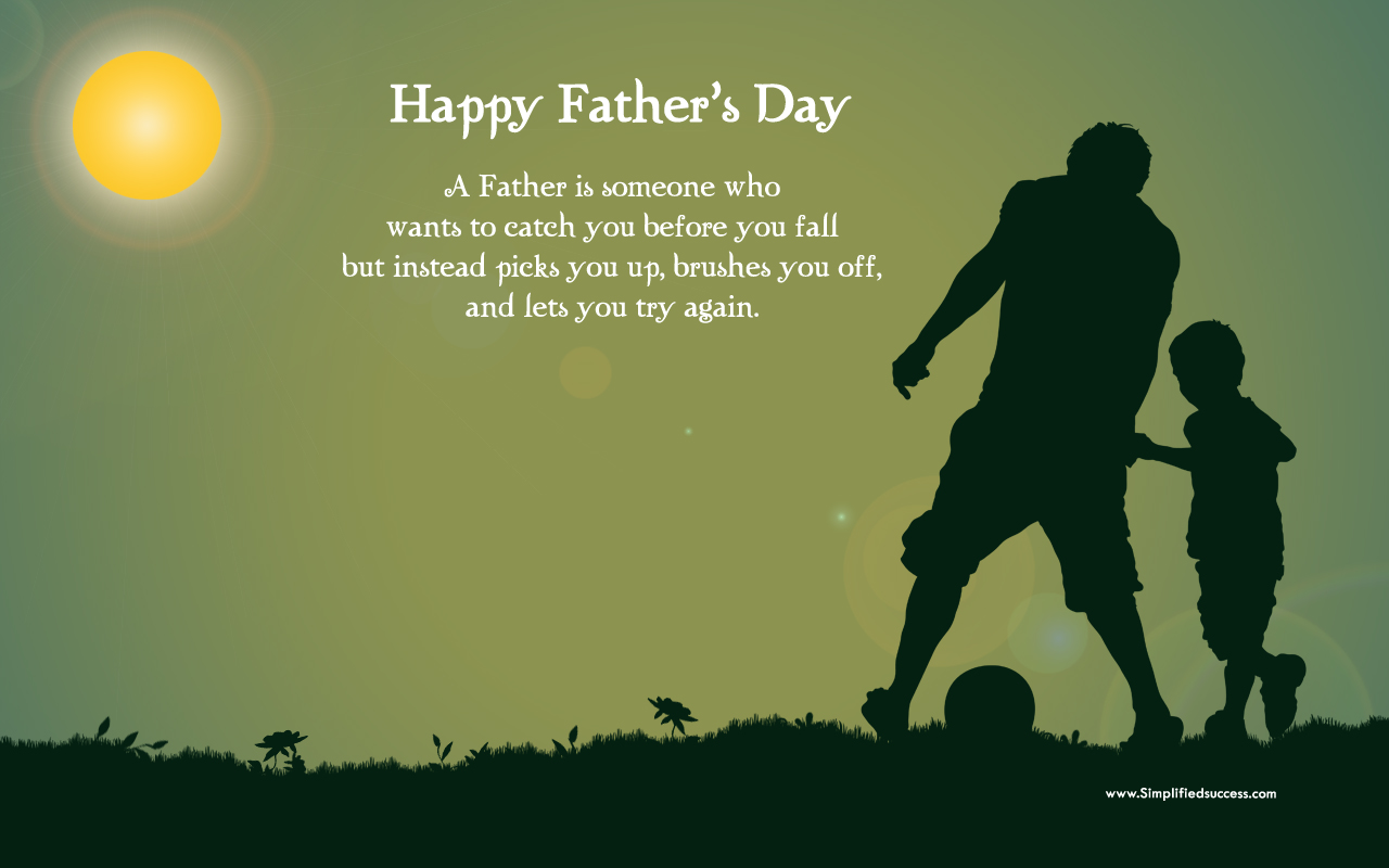 Fathers Day HD Wallpaper 1280x800