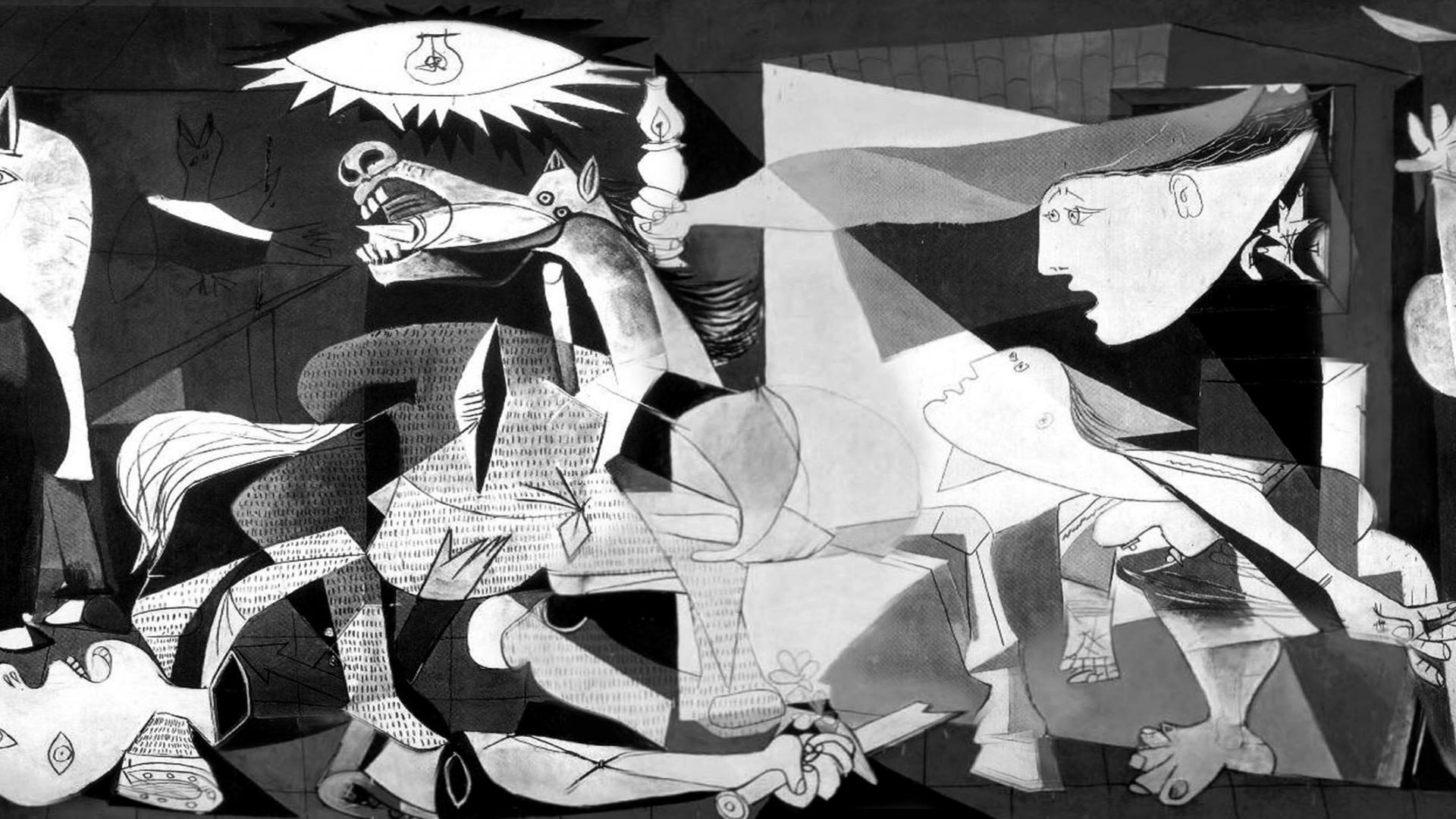 pablo picasso guernica on s 1920x1080