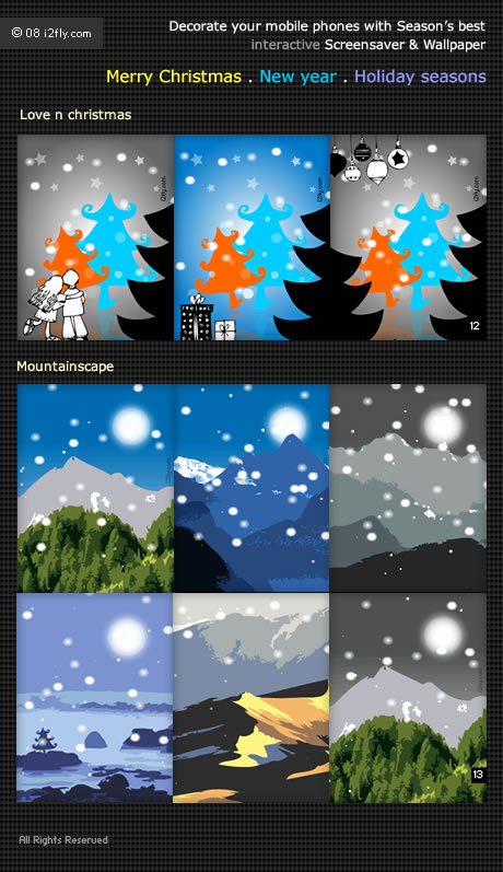 seasons best Flash lite mobile wallpaper and screensavers i2fly 460x797