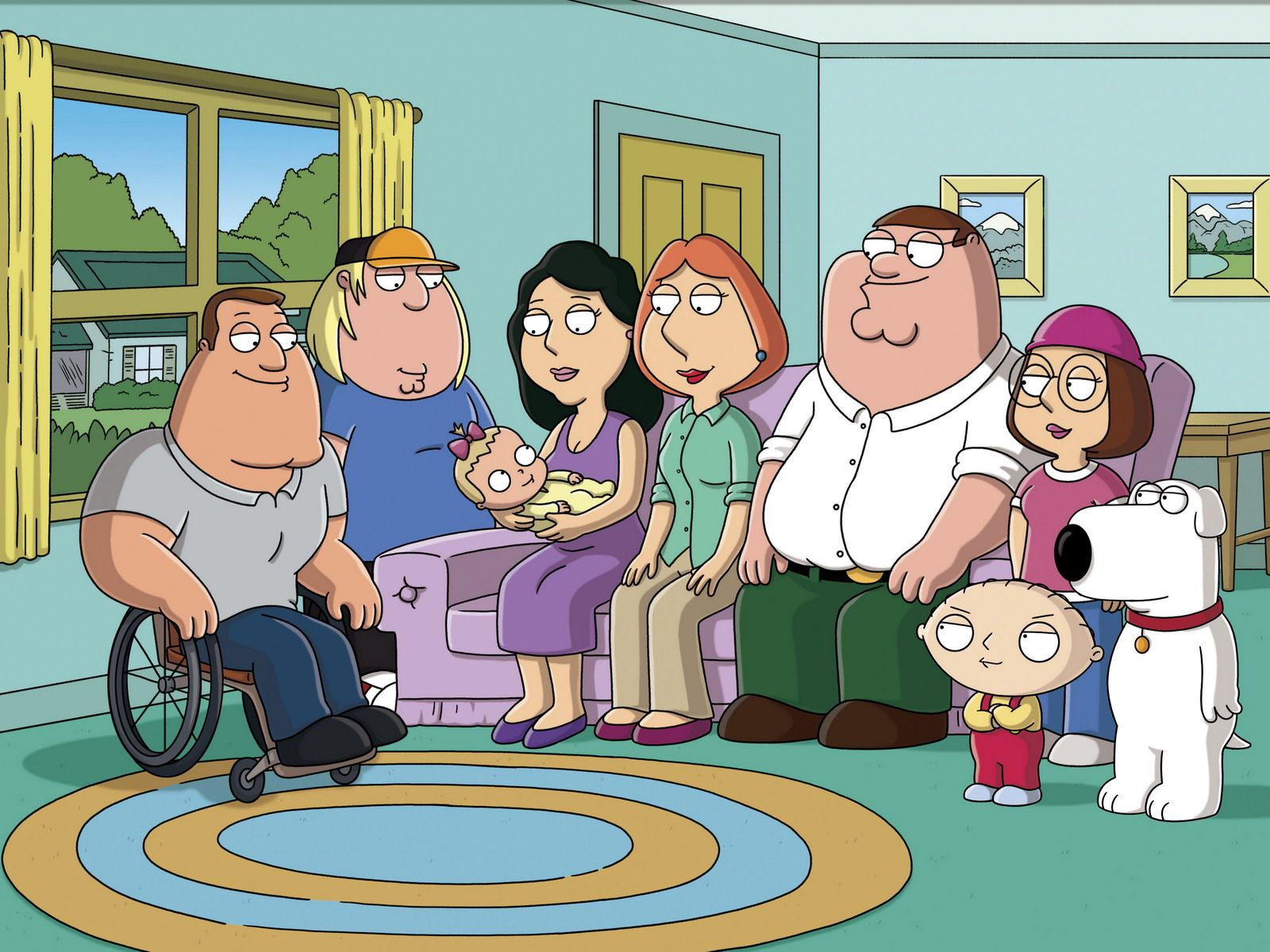 Family Guy Wallpapers For Computer 1600x1200