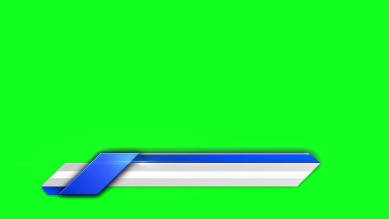 Lower ThirdVideo backgrounds Green Screen HD   Footage CGI 1280x720