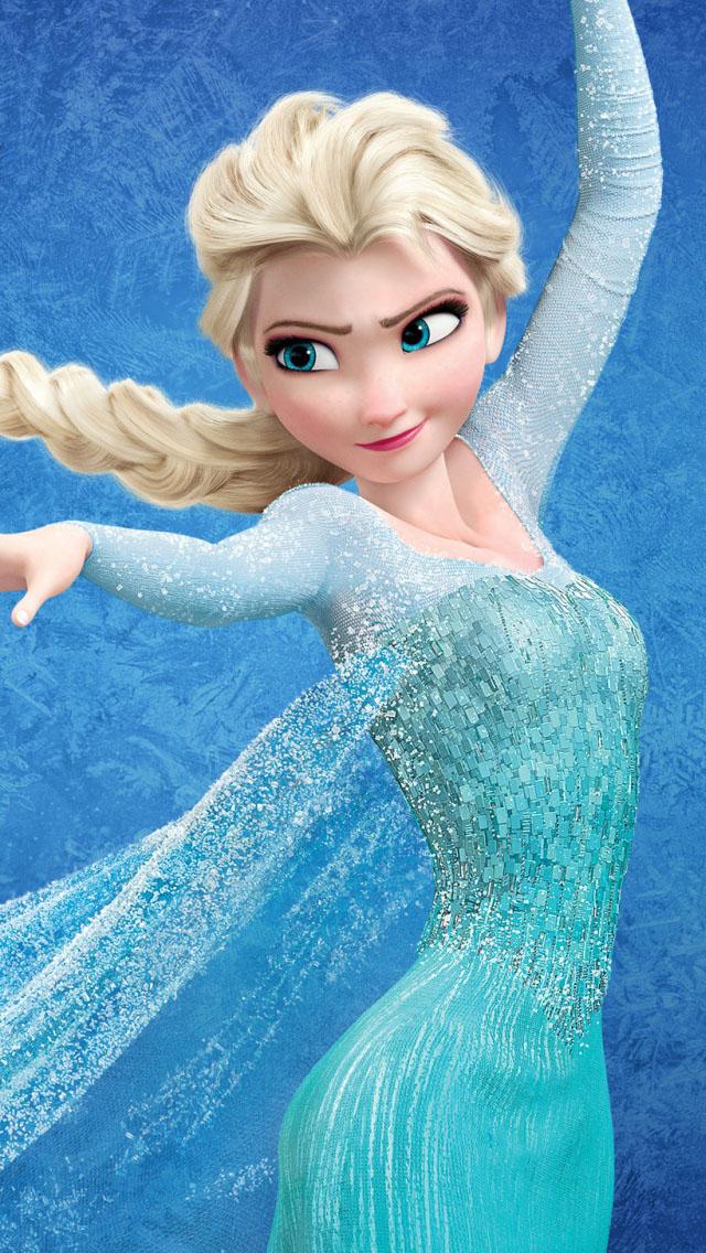 Disney Frozen Elsa Wallpaper   iPhone Wallpapers 640x1136