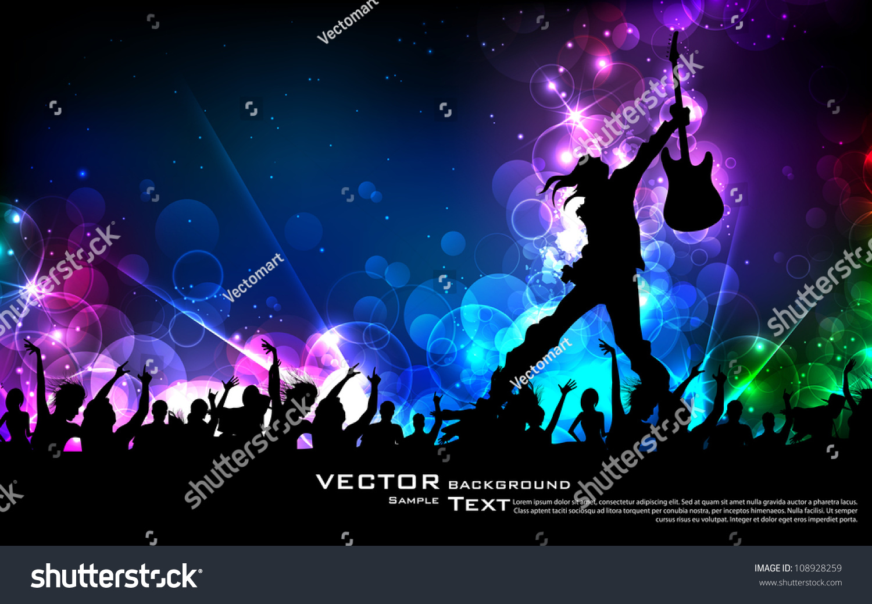 Free Download Illustration Rock Star Performing Guitar On Stock Vector 1500x1038 For Your Desktop Mobile Tablet Explore 70 Rock Star Background Rock Star Wallpaper