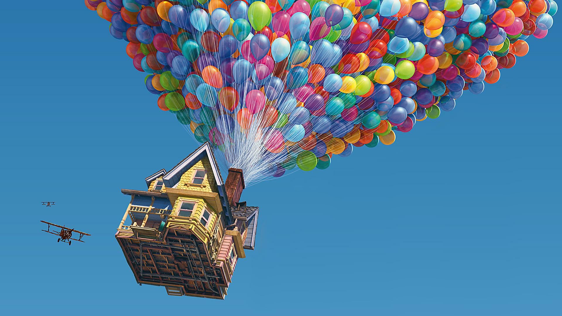 Up movie Wallpaper 1920x1080 Up Movie Balloons 1920x1080