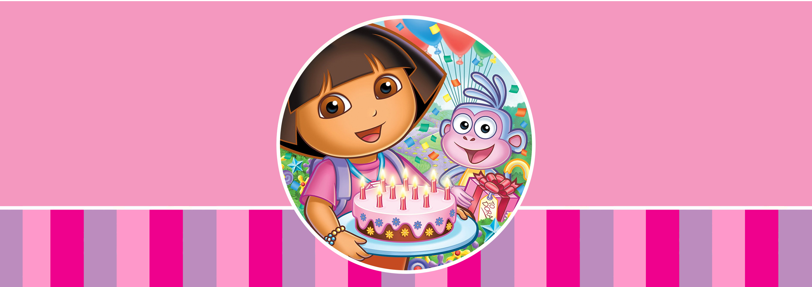 Dora The Explorer Wallpaper Pictures to Pin 2835x1004