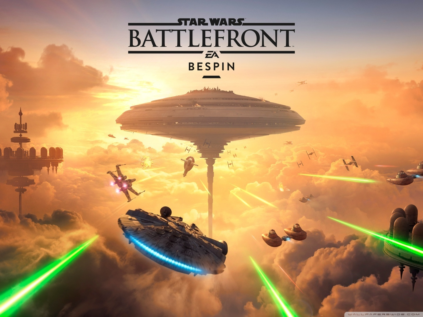 Star Wars Battlefront Bespin DLC 4K HD Desktop Wallpaper for 4K 1440x1080
