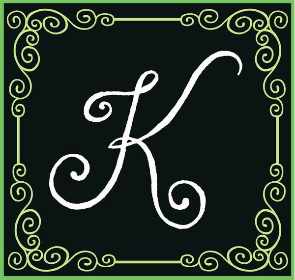 Cute Letter K Wallpaper Wallpapersafari