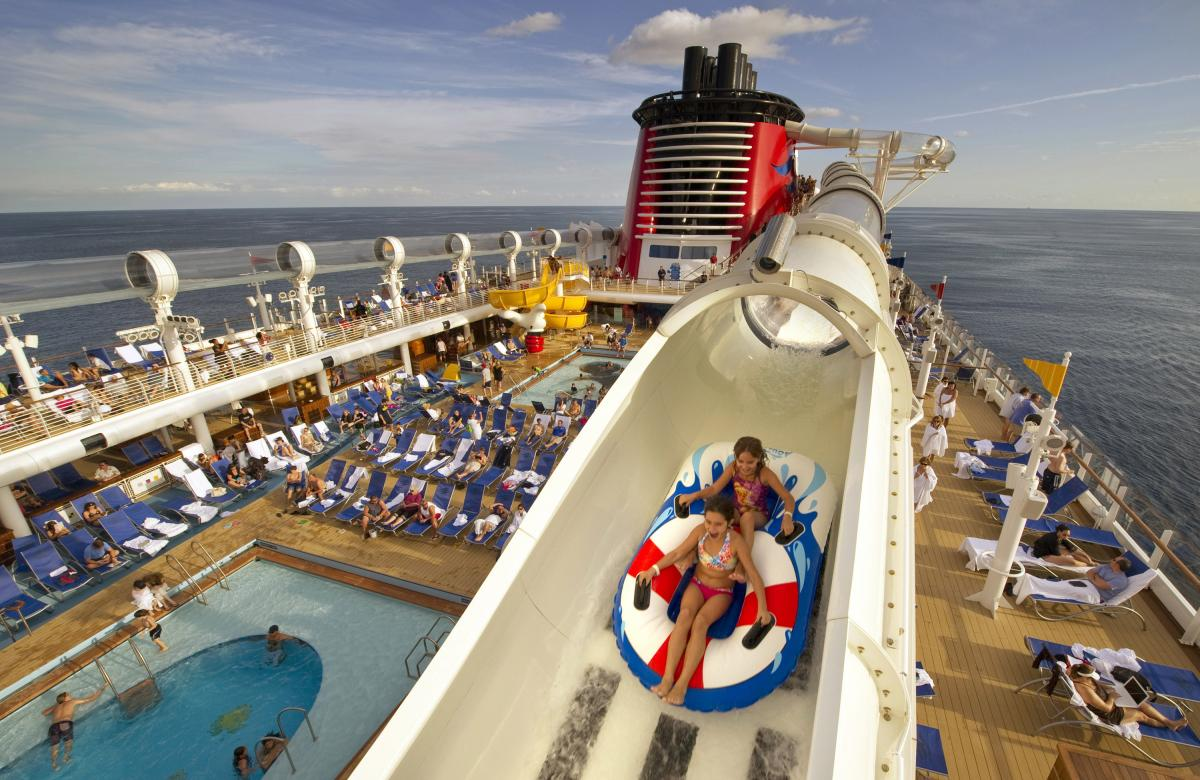 Disney Cruise Line Disney Fantasy and Disney Dream AquaDuck photoc 1200x780
