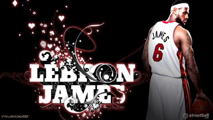 Miami Heat LeBron James MVP Wallpaper by B Ball9 on deviantART 737x416