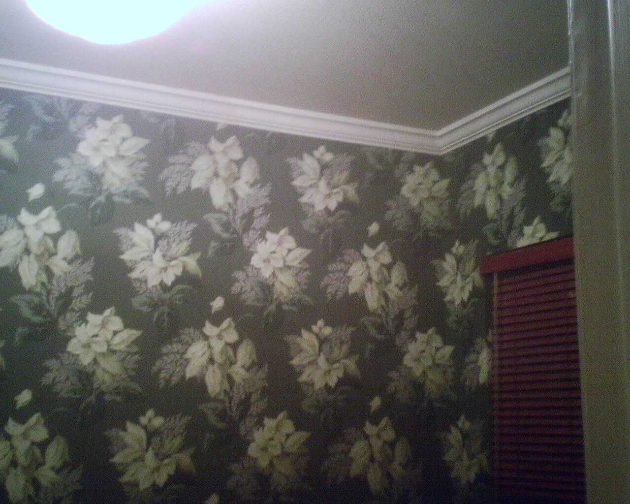 1930s Wallpaper in the Wallpaper Ladys Home Office 1280x1024