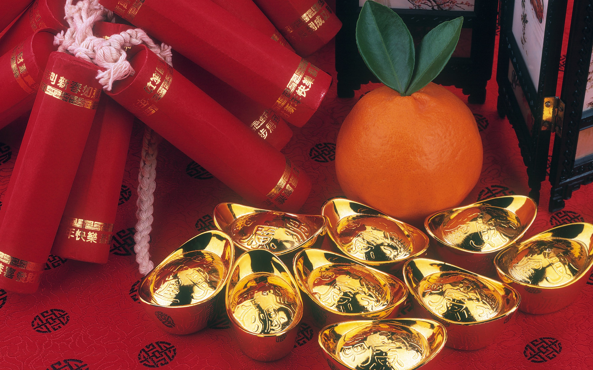 Happy Chinese New Years Decoration Wallpaper Wallpaper with 1920x1200 1920x1200