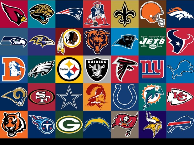 NFL Logos Collection 620x465