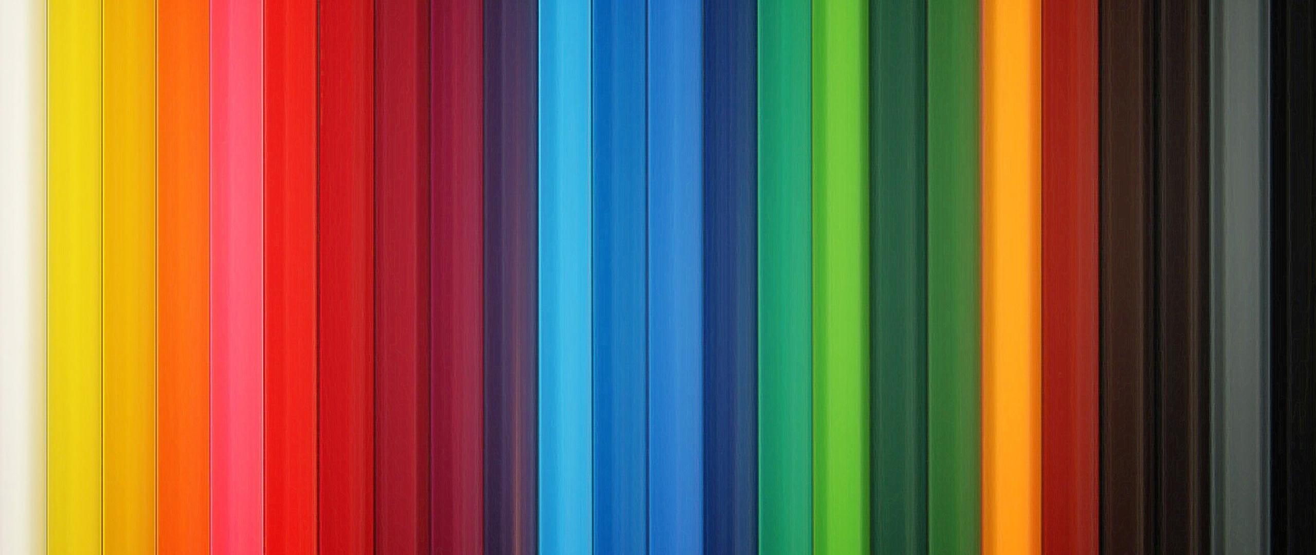 Wallpaper 2560x1080 Colorful Stripes Rainbow Vertical 2560x1080 2560x1080