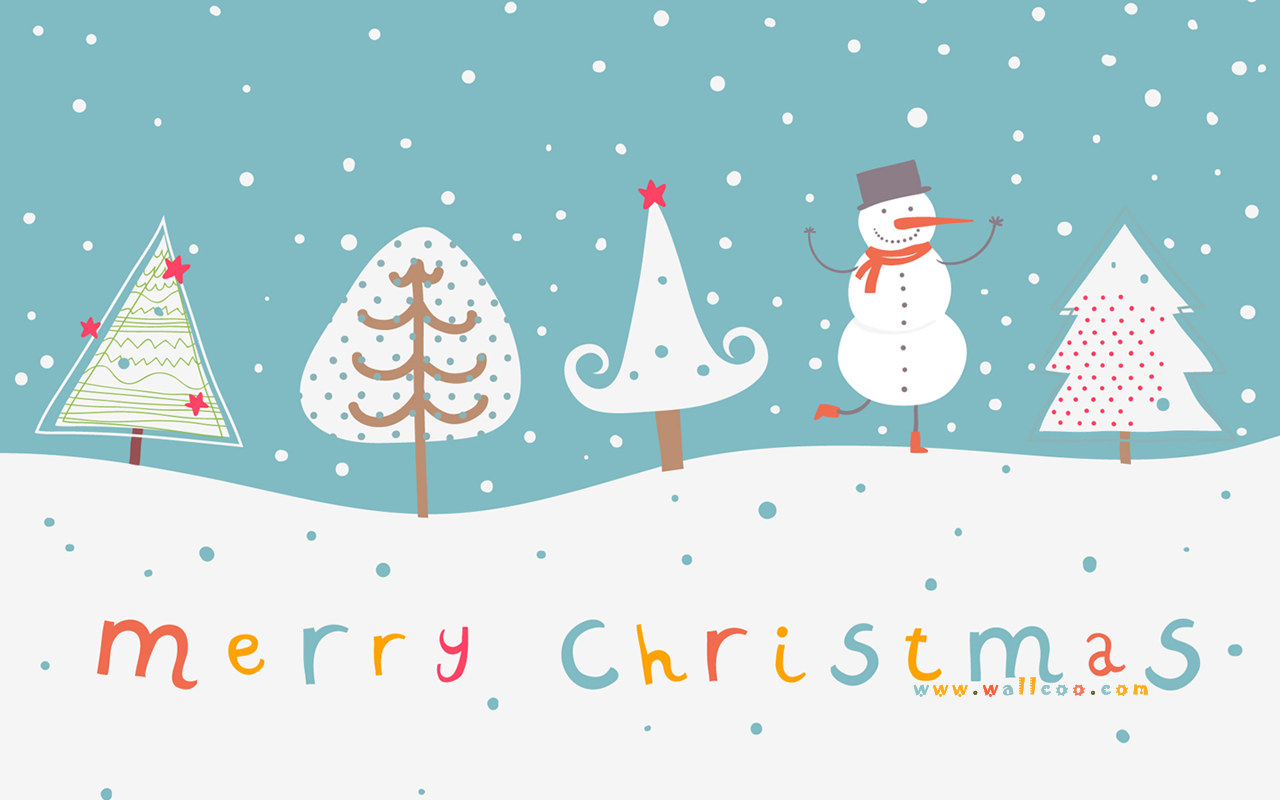 Christmas illustration and Christmas Designs 1280x800 Wallpaper 9 1280x800