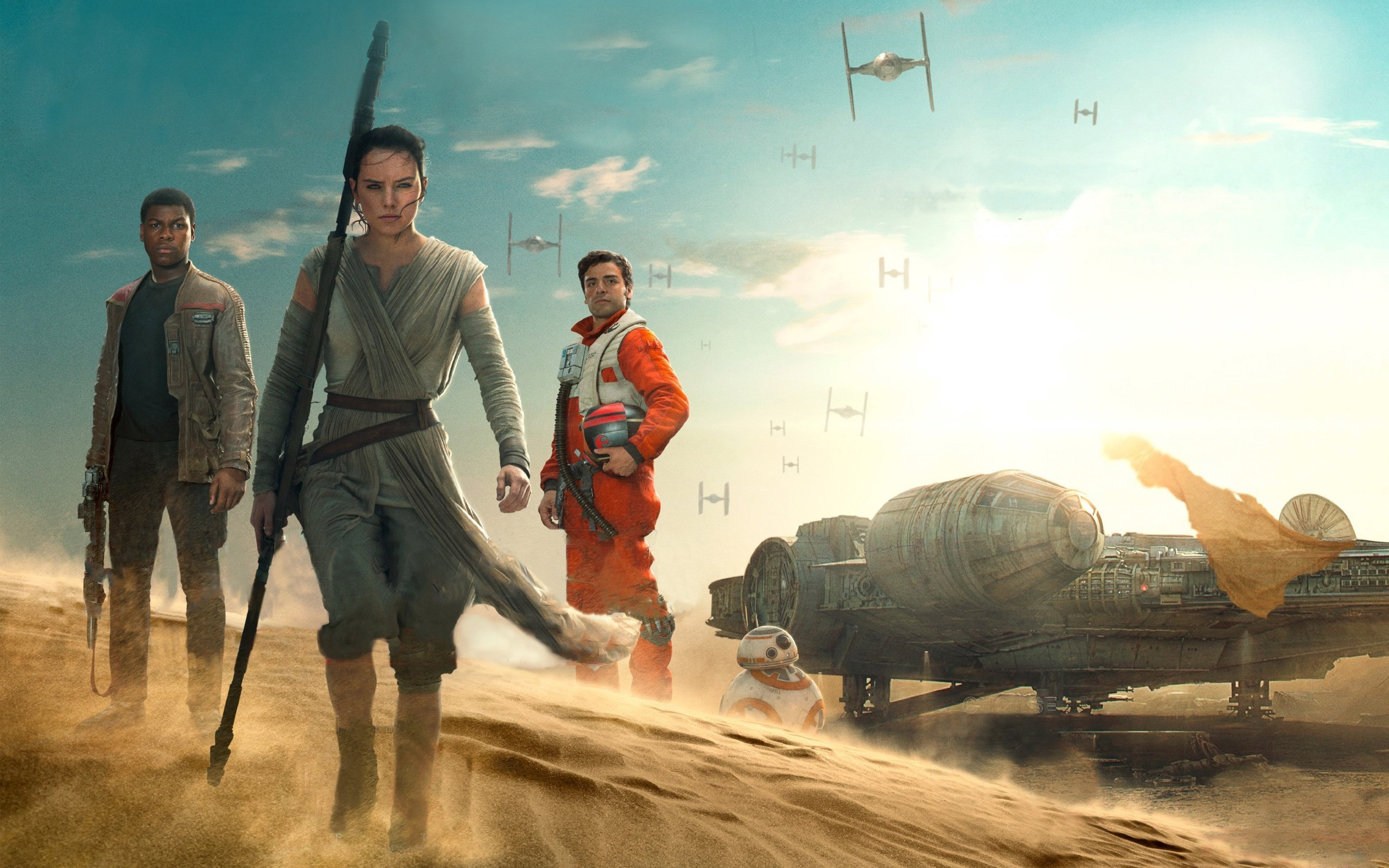 Star Wars The Force Awakens 2015 Wallpapers HD Wallpapers 2560x1600