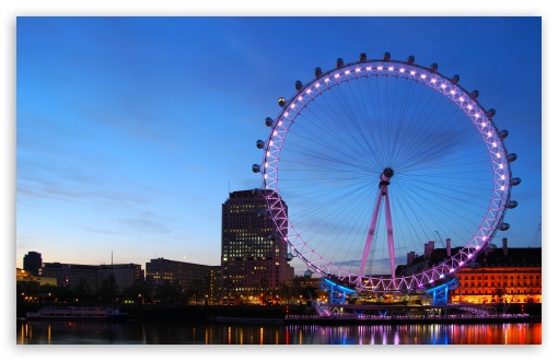 London Eye HD wallpaper for Standard 43 54 Fullscreen UXGA XGA SVGA 510x330