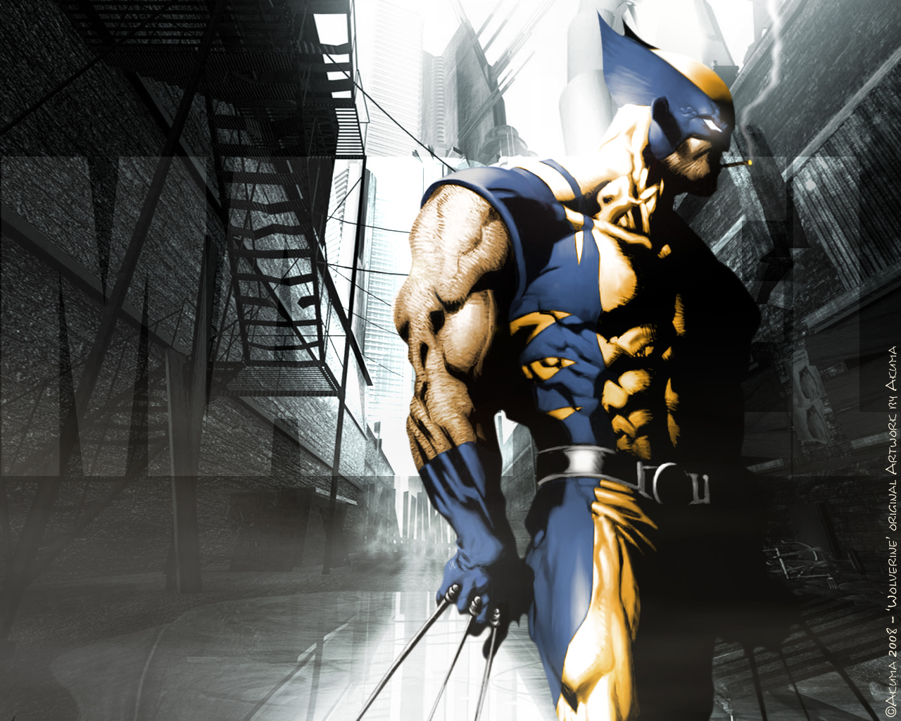 Awesome X men wallpaper Wolverine wallpapers 1280x1024