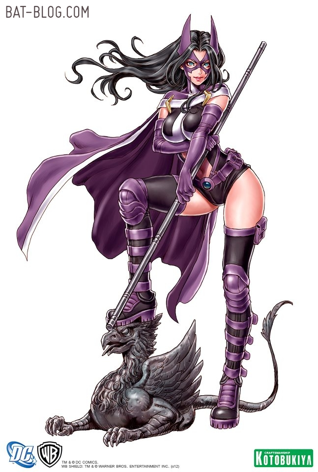 New DC Comics BATMAN STATUE   THE HUNTRESS BISHOUJO STATUE by 647x960