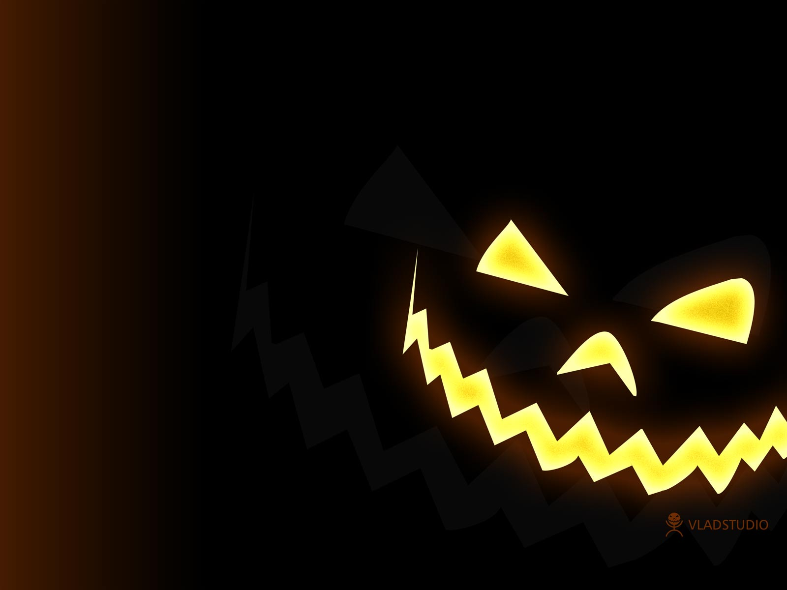 Halloween Wallpaper   Moon Pumpkins and Witch Pics   HD 1600x1200