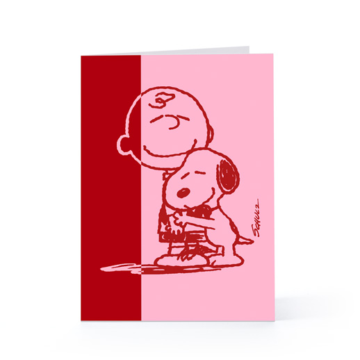 hallmarkcomCharlie Brown Snoopy   Valentines Day Greeting Card 518x518