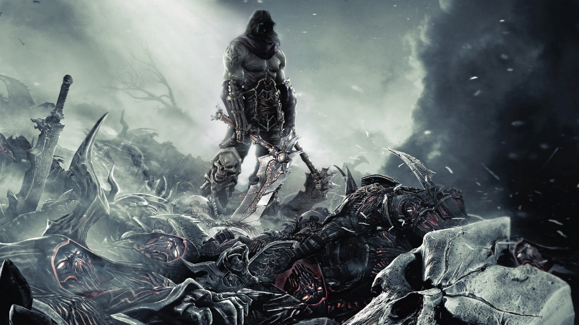 Pics Photos   Wallpaper Wallaper Background Darksiders 1920x1080