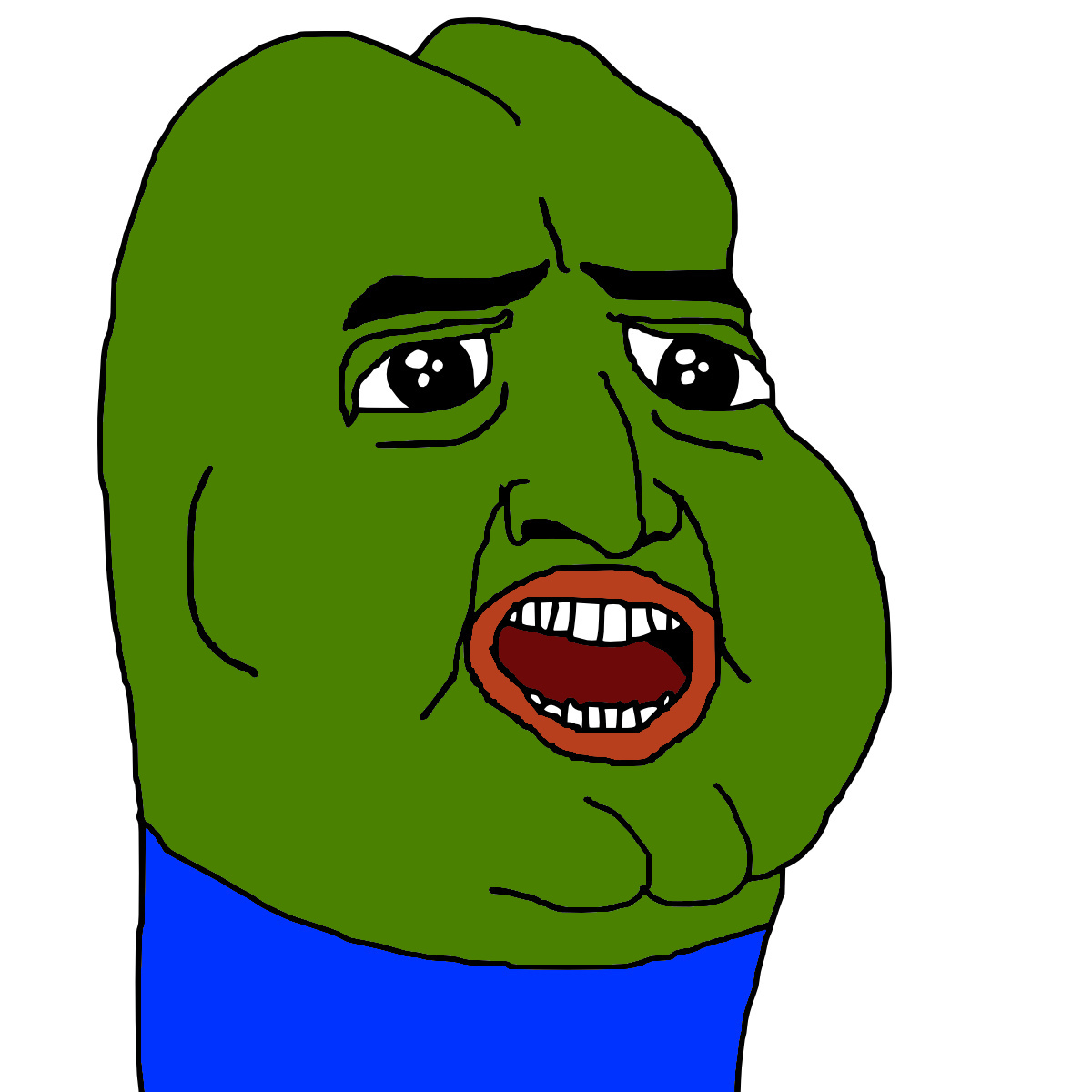 Pin Rare Pepe The Frog Meme 1200x1200