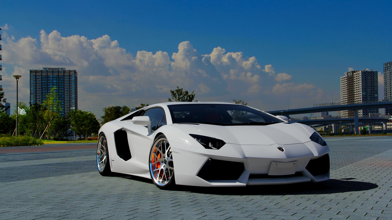 lamborghini aventador white wallpaper hd   Car Release Date Reviews 1366x768