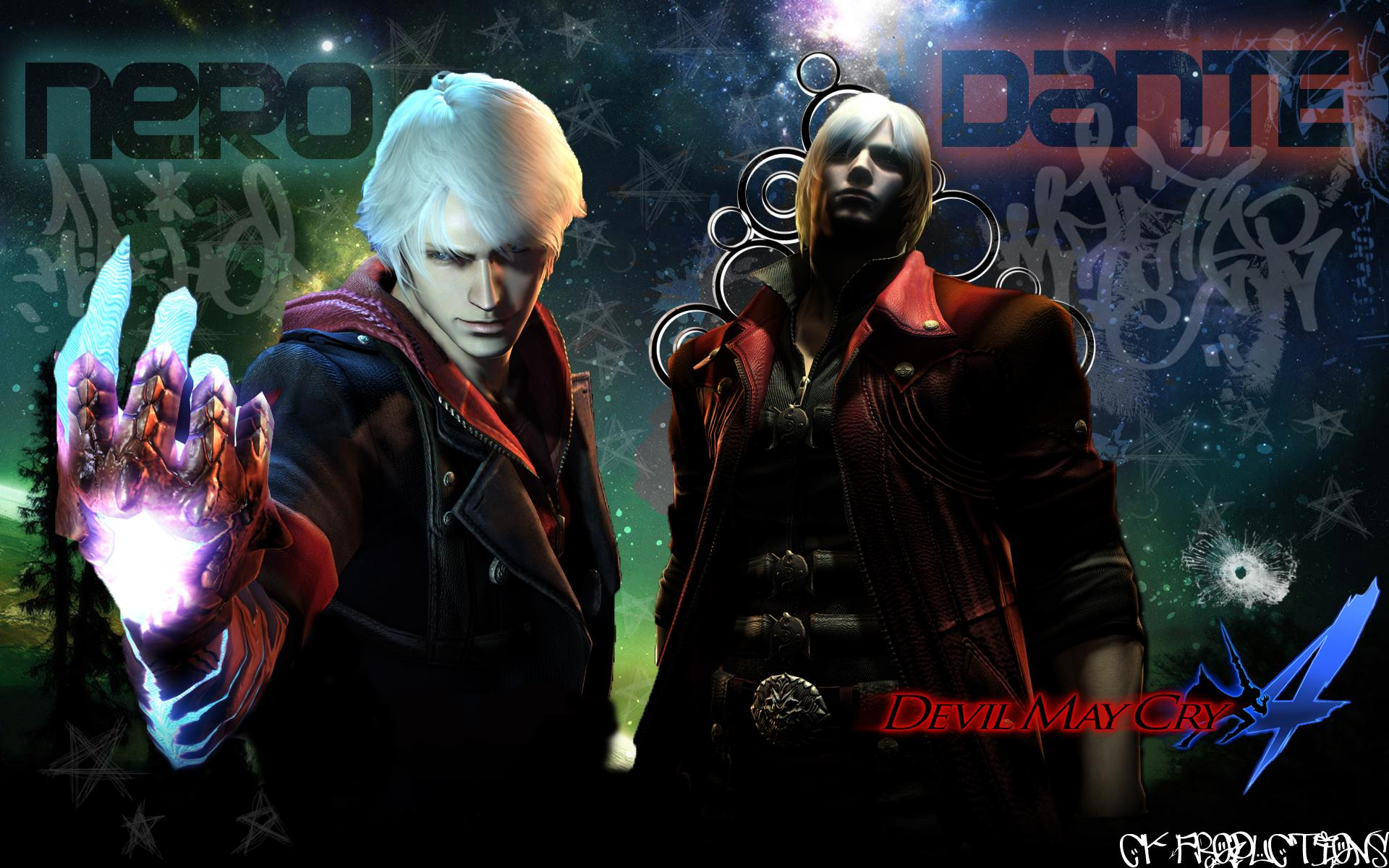 Free Download Devil May Cry 4 Wallpaper Nero Hd 1920x1200 For