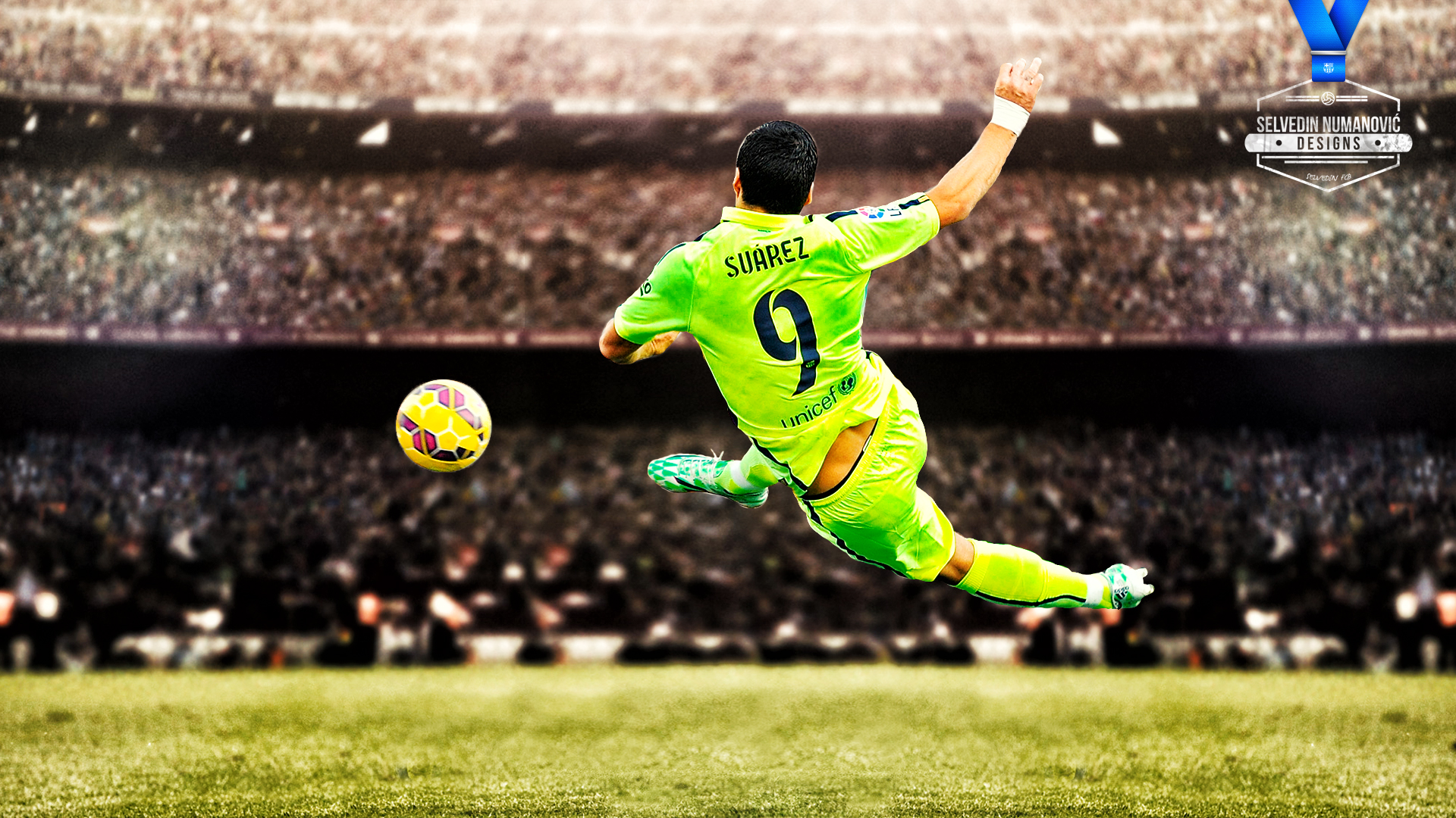 Luis Suarez FC Barcelona wallpaper HD by SelvedinFCB 1920x1080