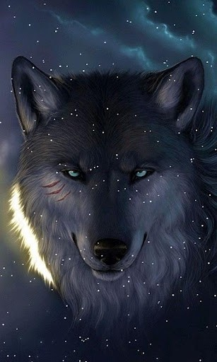 Download Snowing Wolf Live Wallpaper for Android by Aniwidgets 307x512