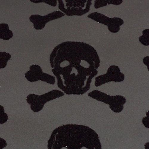 skulls Beware the Moon Hypnotic Wallpaper Made in England 500x500