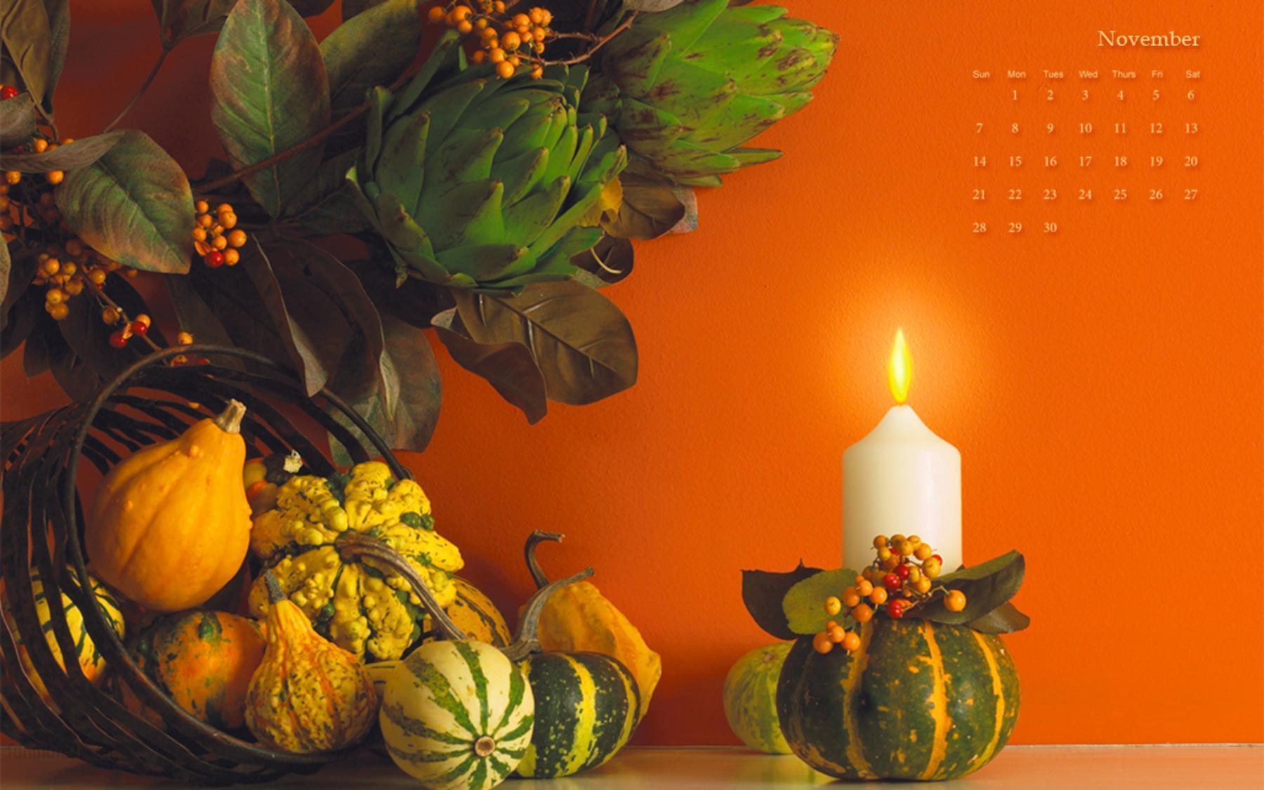 3D Thanksgiving Wallpapers 1800x1125