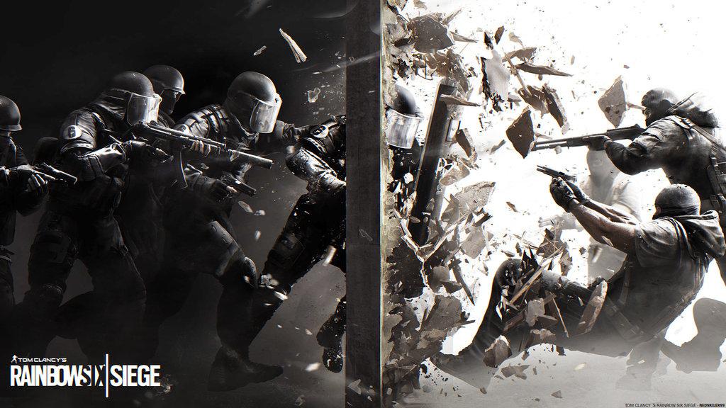 Tom Clancys Rainbow Six Siege Wallpaper by neonkiler99 1024x576