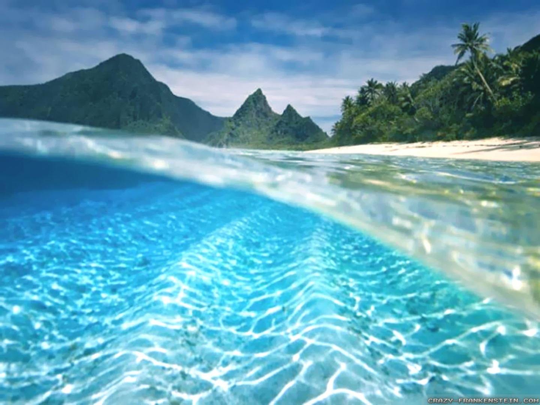 Underwater Beautiful Summer Wallpapers CloudPix 1440x1080