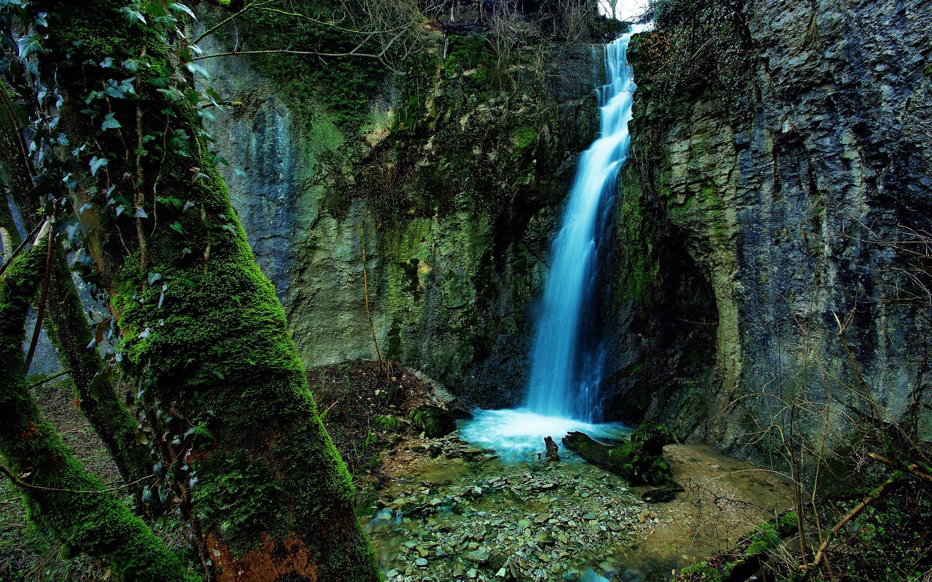 Waterfall Hd Wallpaper on WallpaperSafari
