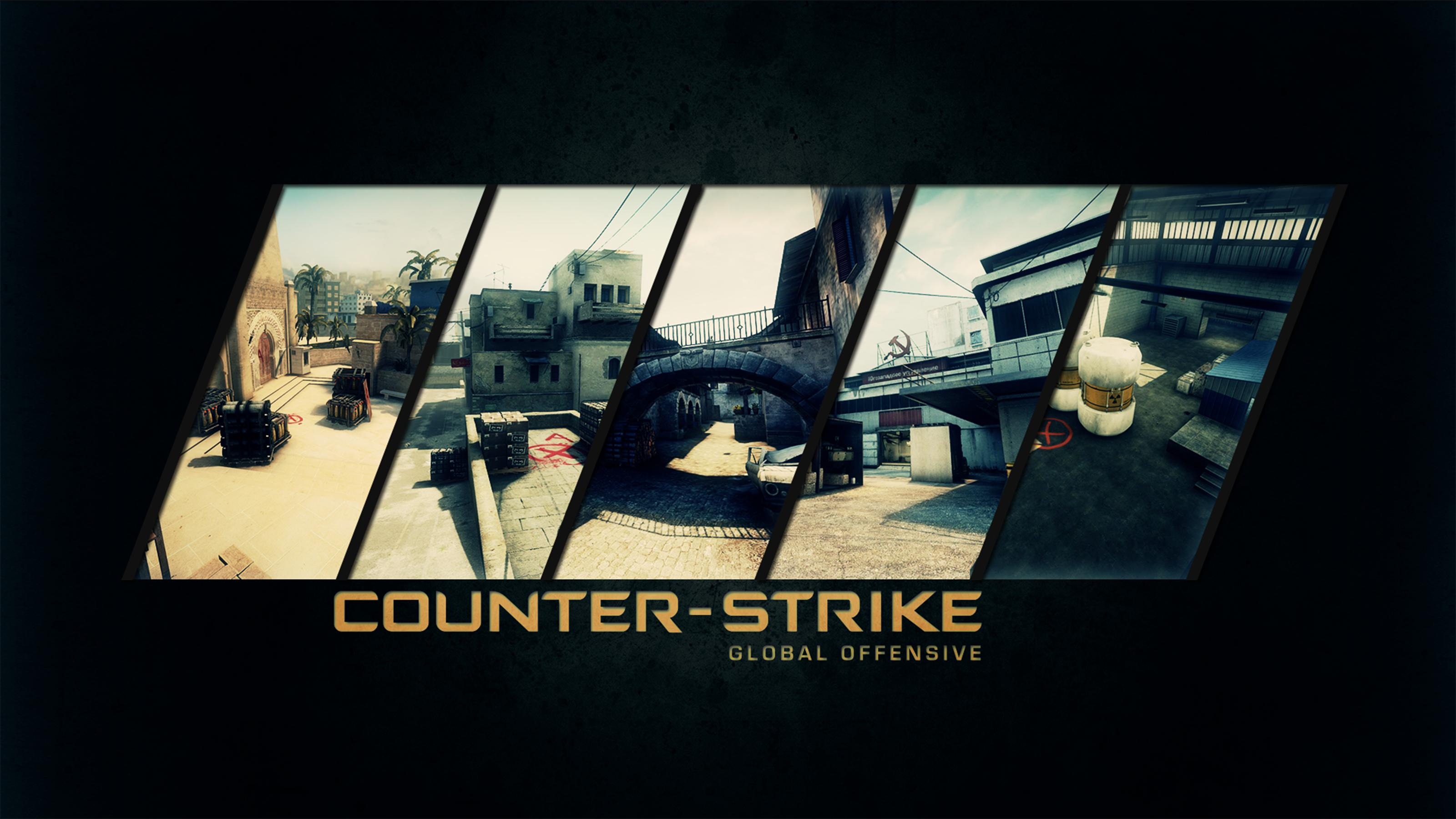 Counter Strike Global Offensive Wallpaper Hintergrundbild HQ 2014 3200x1800