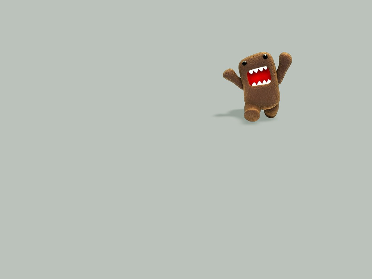 Japanese wallpapers Domo kun NHKs mascot wallpaper 1280x960