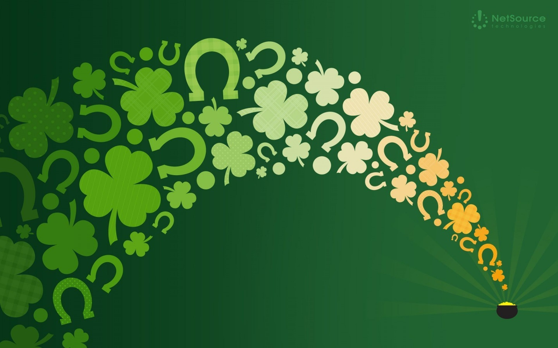 Lucky St Pattys Day Backgrounds Newevolution Astonishing Wallpaper 1440x900