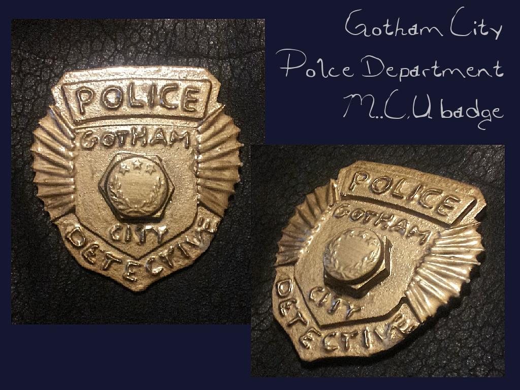 Police Badge Wallpaper Dc comics   gotham city police 1024x768