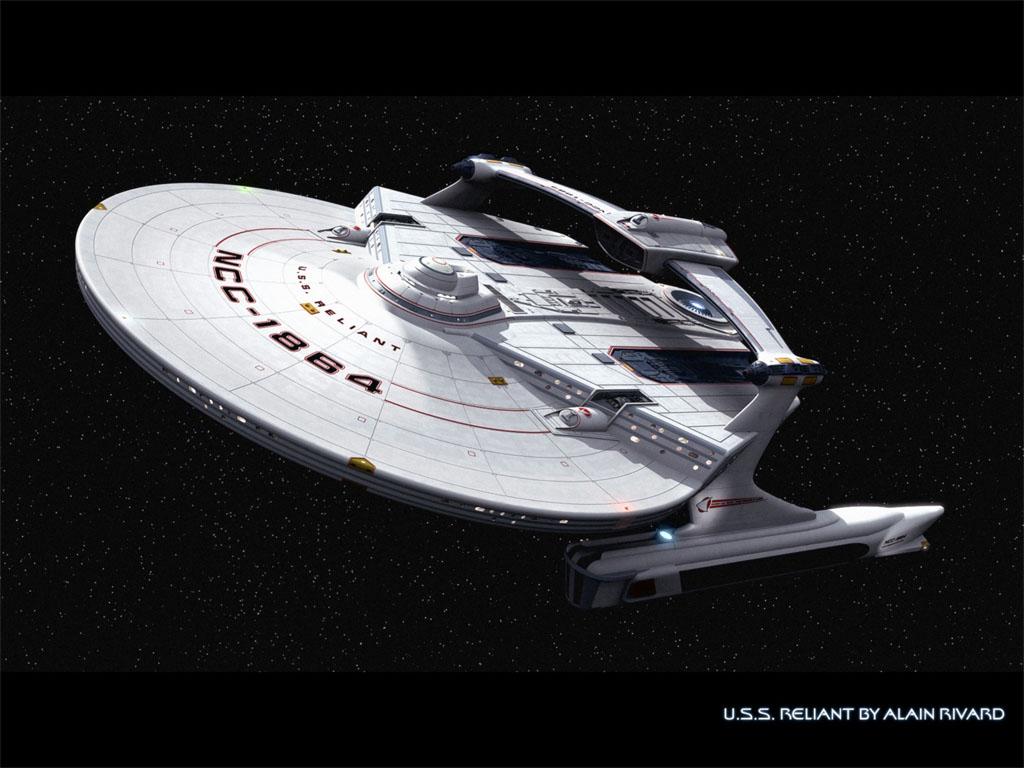 star trek wallpaper starship Reliant wallpaper Alain Rivard 1024x768