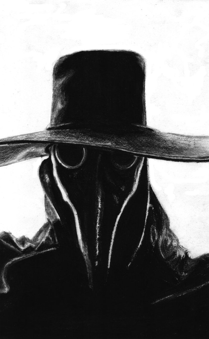 The Plague Doctor by Sturgeonsurgeon14th 701x1138