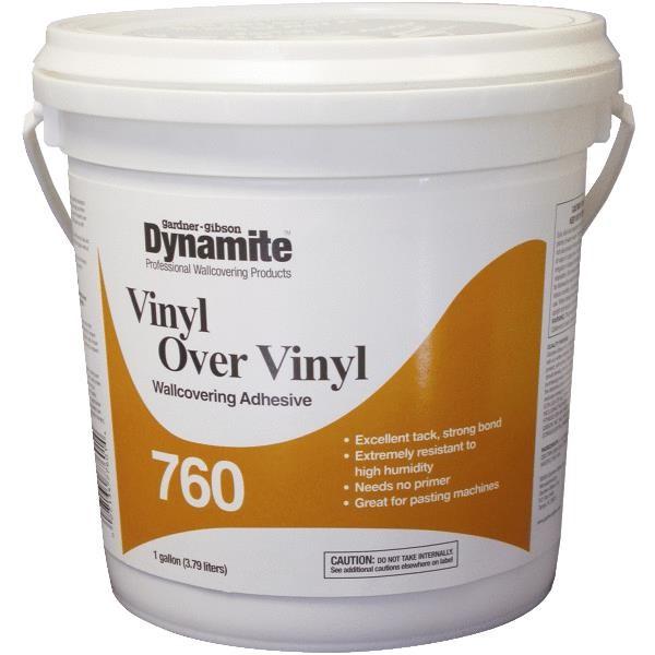 GIBSON 7760 3 20 DYNAMITE 760 VINYL OVER VINYL WALLCOVERING ADHESIVE 600x600