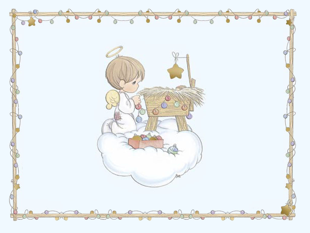 Precious Moments Christmas Desktop Wallpaper 1024x768