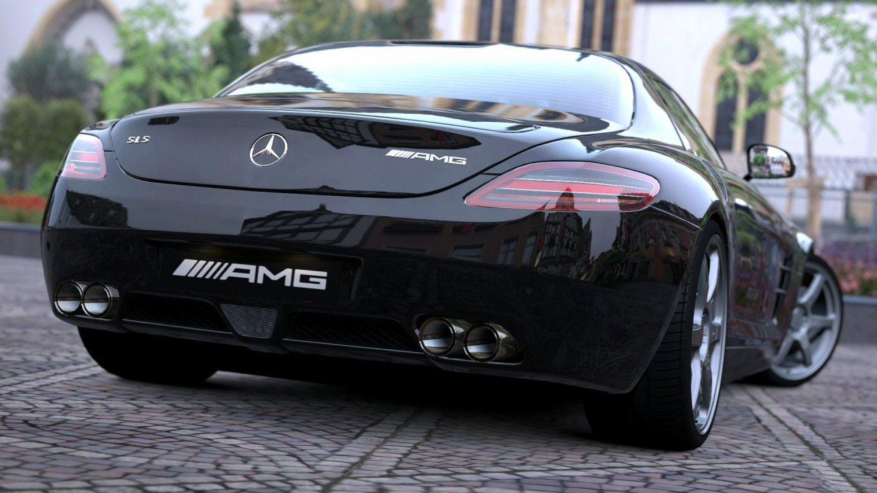Mercedes SLS AMG HD Wallpaper 1280x720