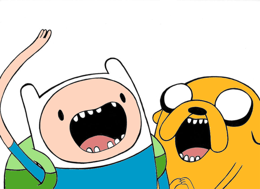 and jake finn and jake jumping by finn and jake 900x654