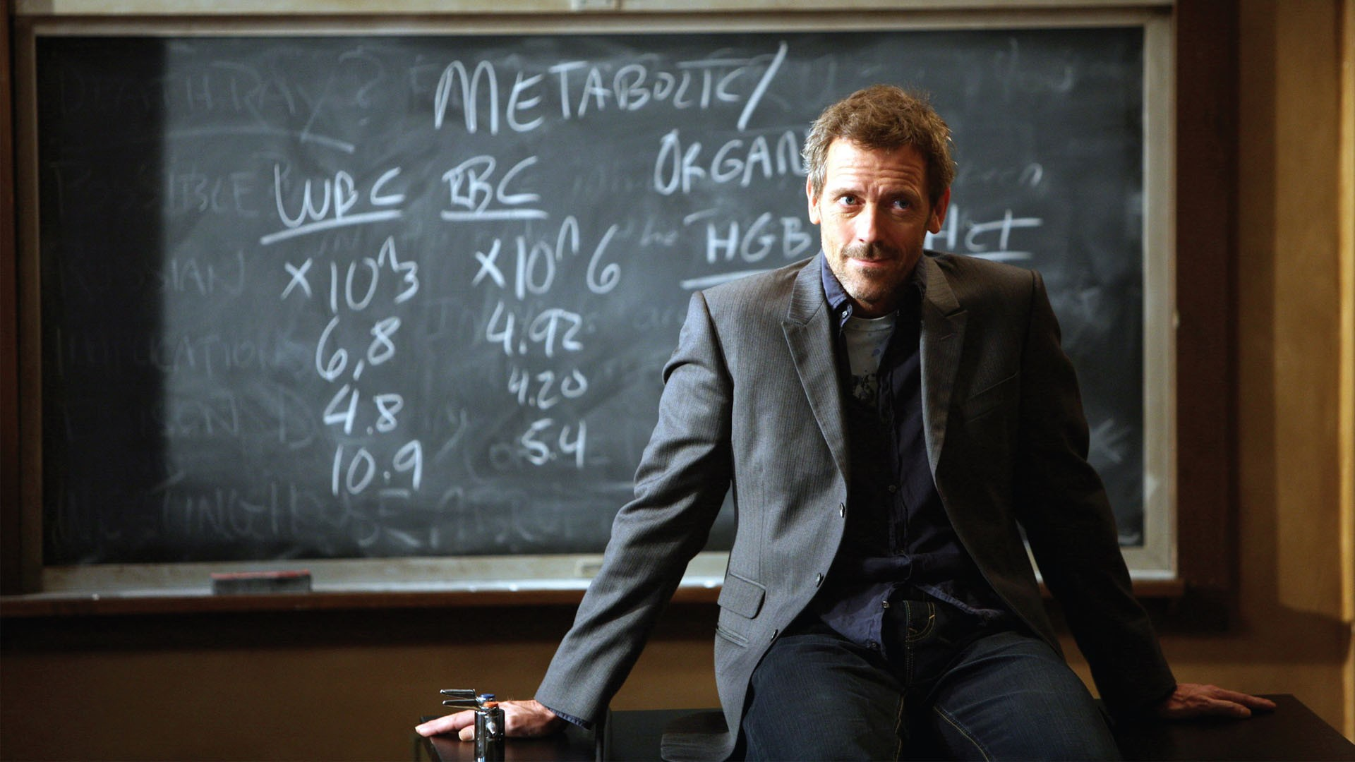 Dr House Wallpaper 1920x1080 Dr House Blackboards Hugh Laurie 1920x1080