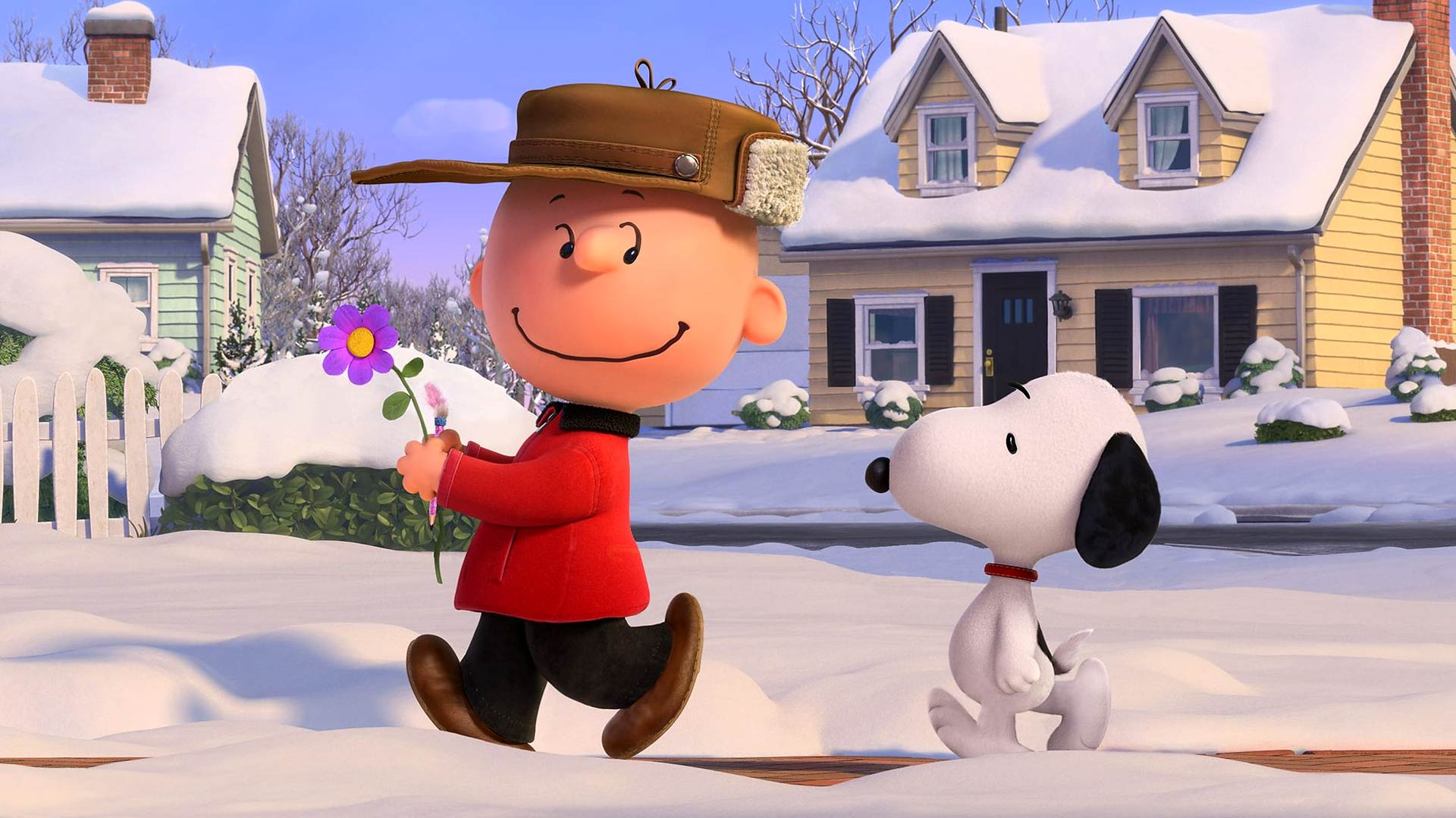 snoopy in The Peanuts Movie 2015 wallpapers HD 1080p for your desktop 1920x1080